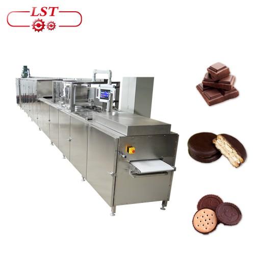 Factory Supply Chocolate Depositing Line  Machine Automatic Hot Chocolate Machine