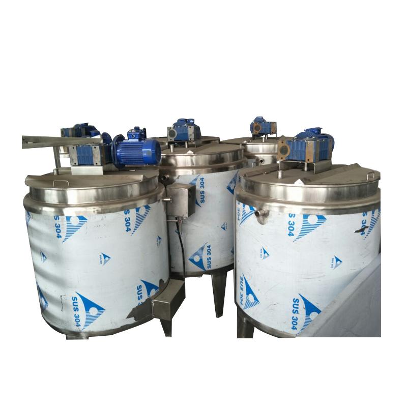 High quality automatic 500-1000L chocolate melting machine holding tank