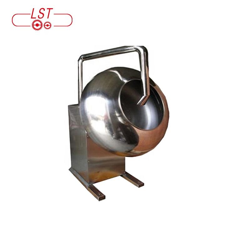 Hot chocolate ice cream spinner coating machine confectionery coating pan machine