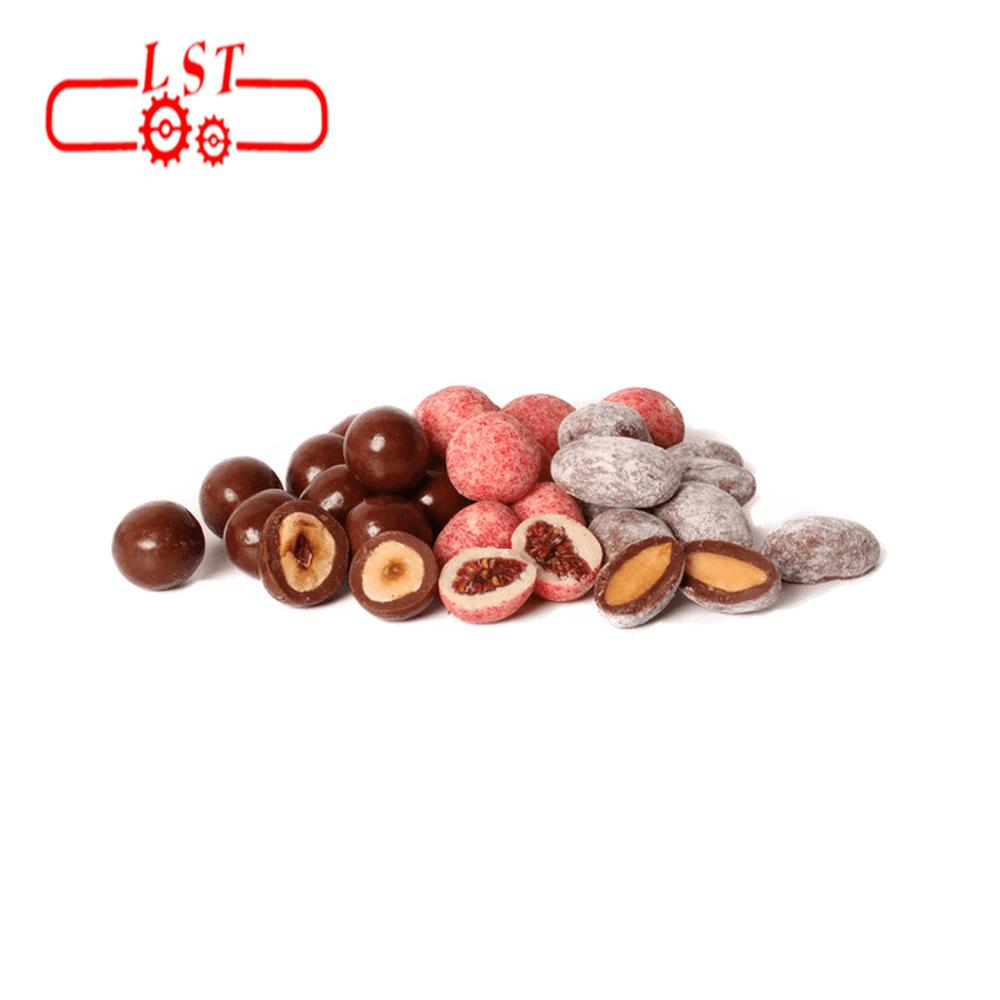 New Belt Type Auto Chocolate Machine for Chocolate Coating