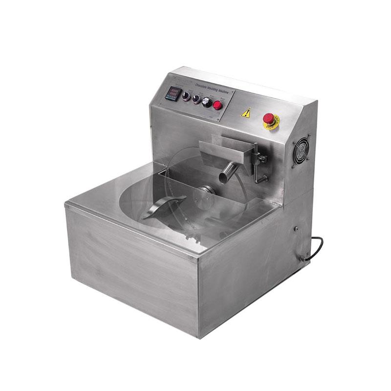 CE Certificate Hot Chocolate Dispenser Machine Mini Small Chocolate Tempering Making Machine