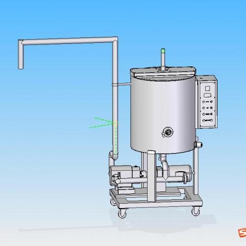 Interlayer insulation Movable Multi-standard chocolate Melting Chocolate Holding tank
