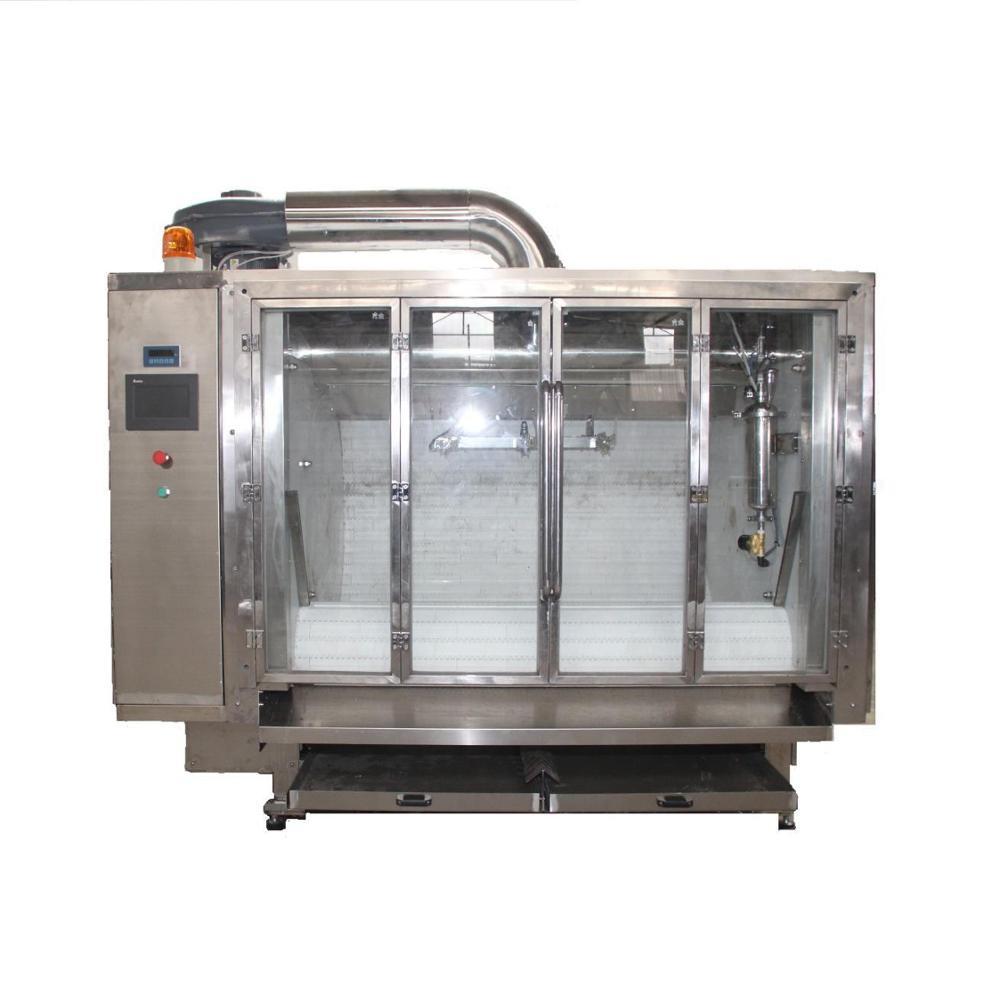 Hot-selling Semi-automatic Belt type Chocolate Coating and polishing machine