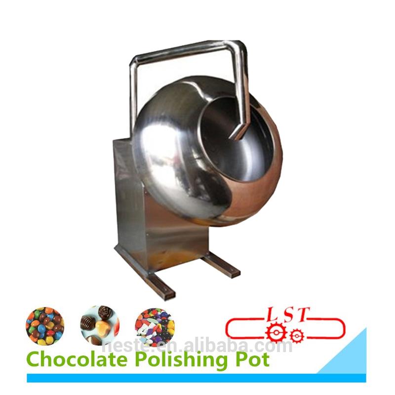 Chocolate Enrobing Equipment Chocolate Bean Sugar Peanut Coating Machine