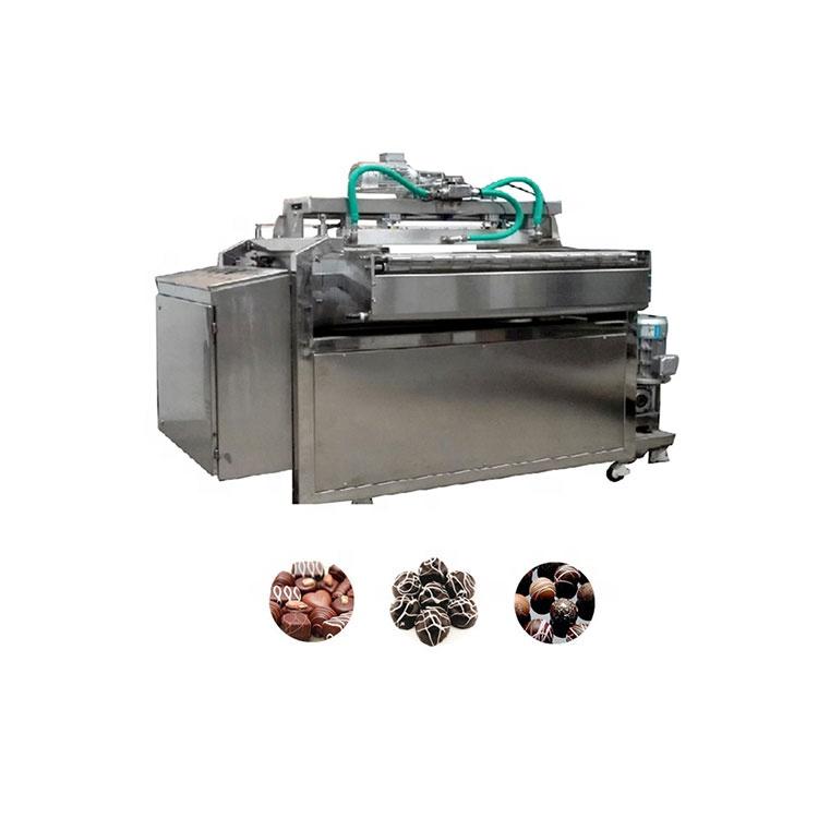 Chocolate processing machine automatic chocolate decorating machine