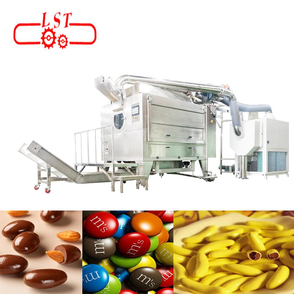 Auto Multi-functional Chocolate Beans Coating Machine Sugar Coating Polishing Machine