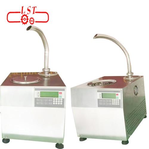 Hot Chocolate Dispenser Line Production Stainless Steel Polishing Machine