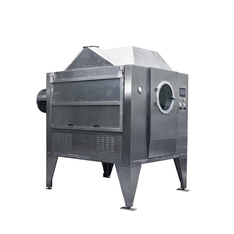 Full automatic chocolate m&m smarties ball making rotating chocolate coating machine