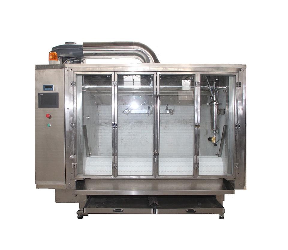 High Capacity Belt Coating Machine Chocolate Candy Polishing Machine Mixer Blender