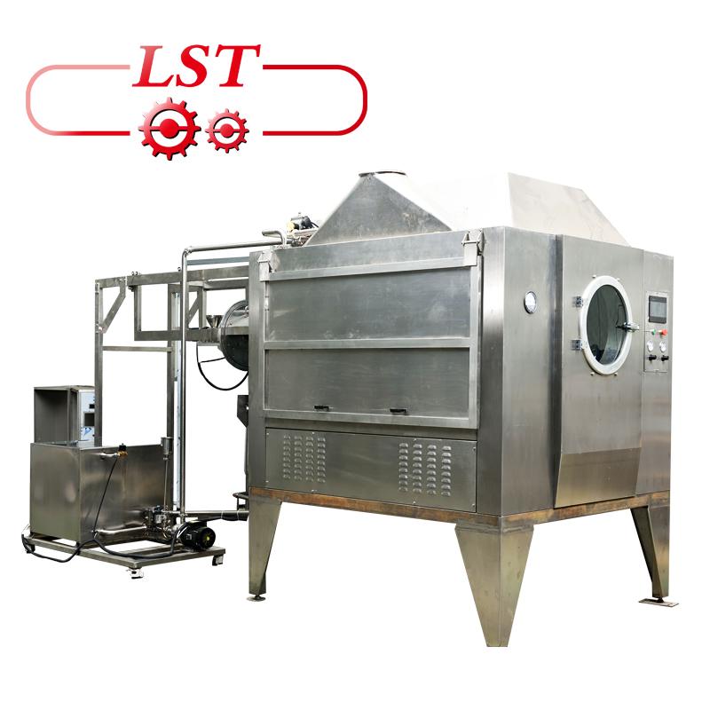 Automatic coating peanuts chocolate processing machinery small production food making machine
