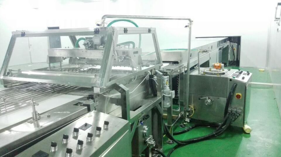 Factory Chocolate Making Machine  Automatic Production Line Chocolate Decorating Machine