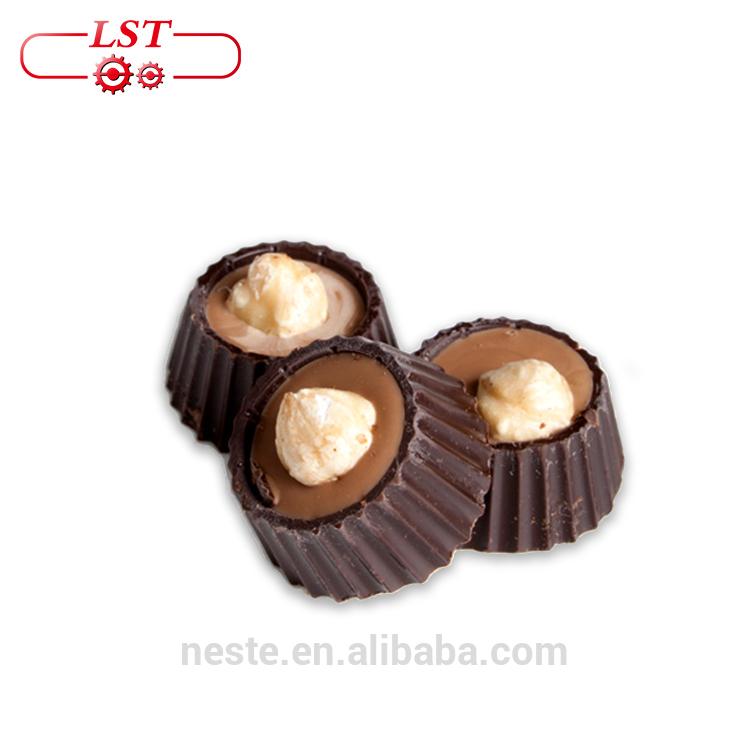Milk chocolate Nuts and hazelnuts chocolate forming machine Almond Chocolate Truffles making machine