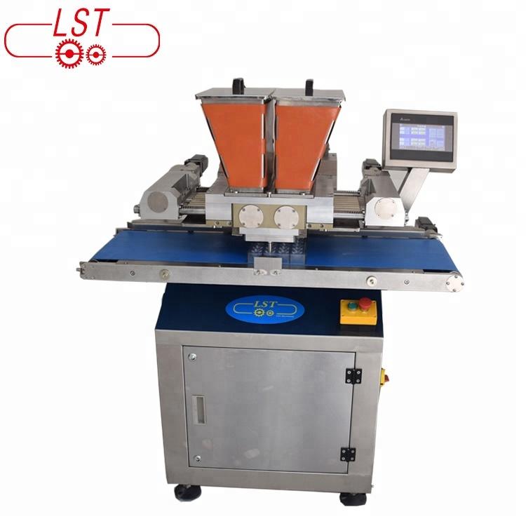 Cake Decorating Machines Chocolate Enrobing Machine For Coating Snacks Melanger Chocolate Machine
