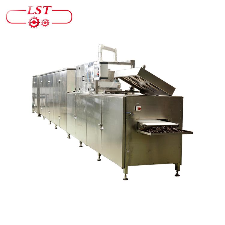 Automatic chocolate mold making machine in Turkey