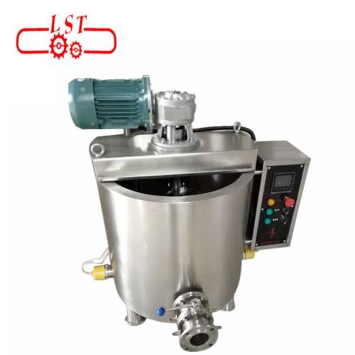 Food grade SS304 automatic small chocolate melting machine