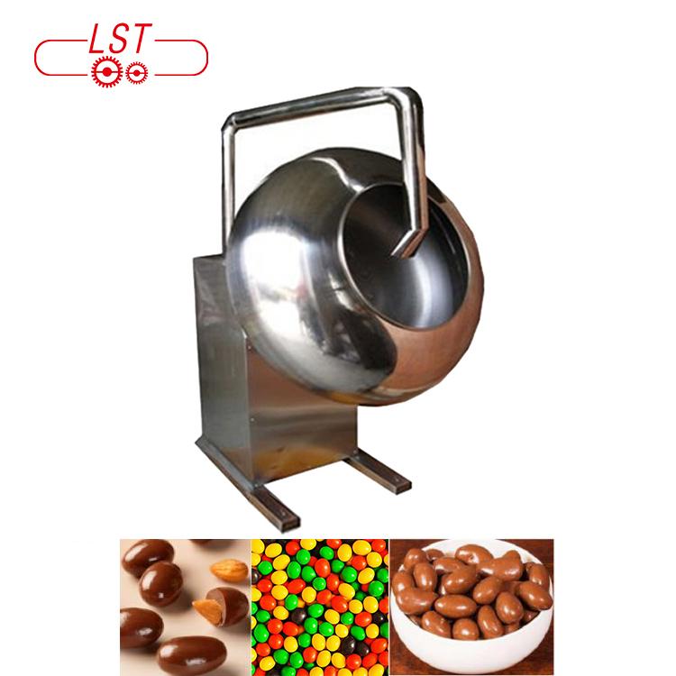 Hot sale stainless steel peanut coating machine chocolate coating polishing pan