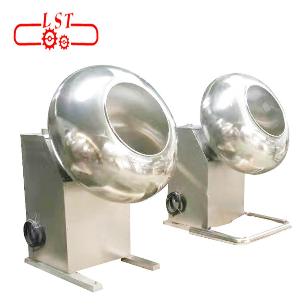 LST Hot selling auto mini chocolate spraying coating polishing machine