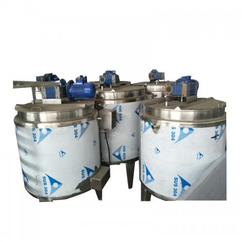 1T/2T/3T Chocolate Melting Machine with mixer Chocolate Equipment Chocolate Holding Tank