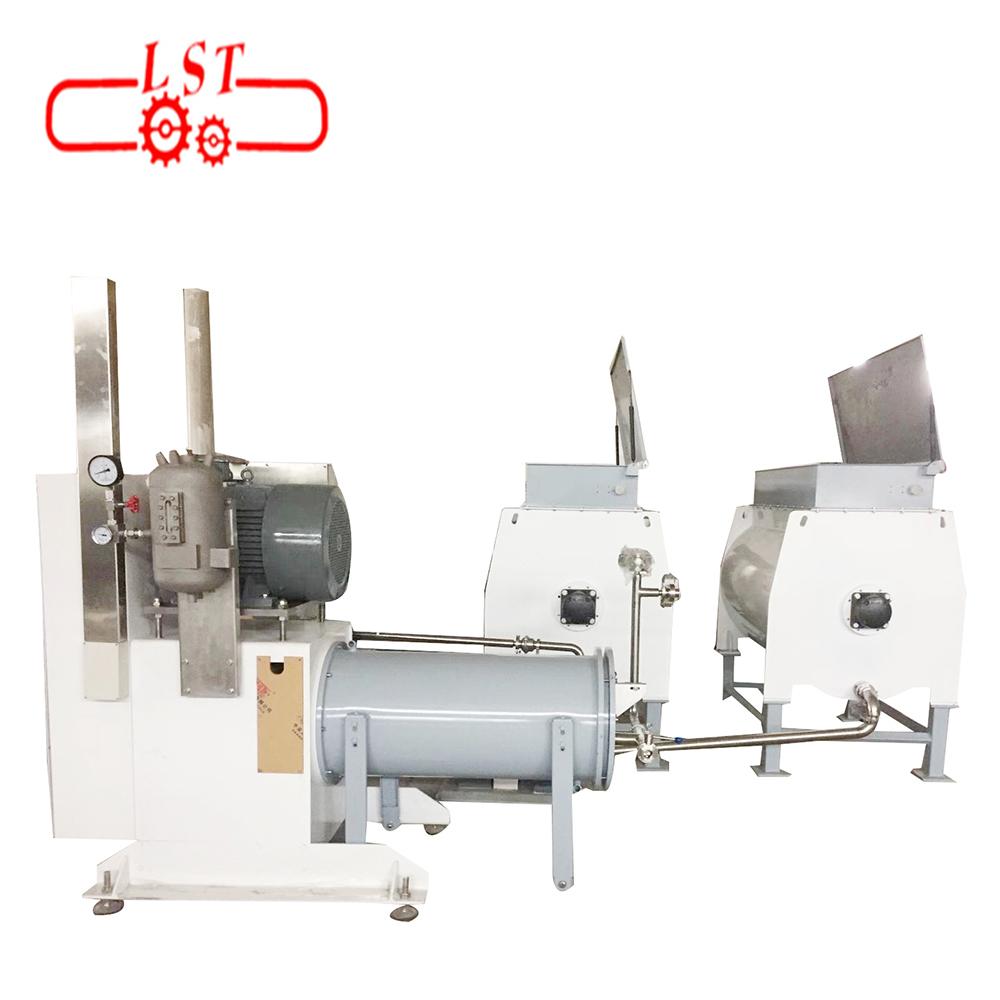 China Fully Automatic Ball Mill Chocolate Machine Price