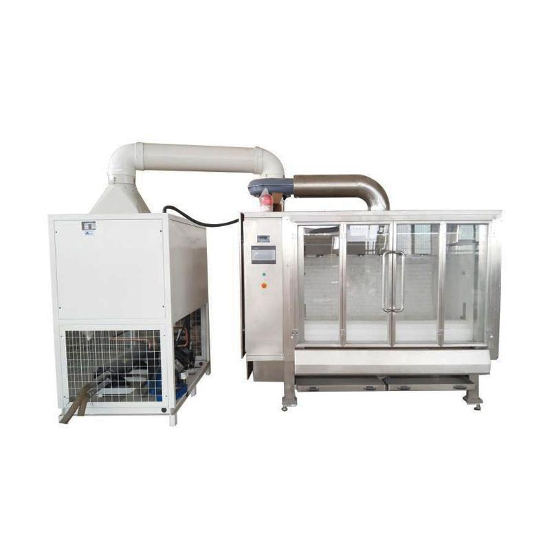 Customized Auto Chocolate Coating Machine Belt Type Chocolate Polishing Machine Price