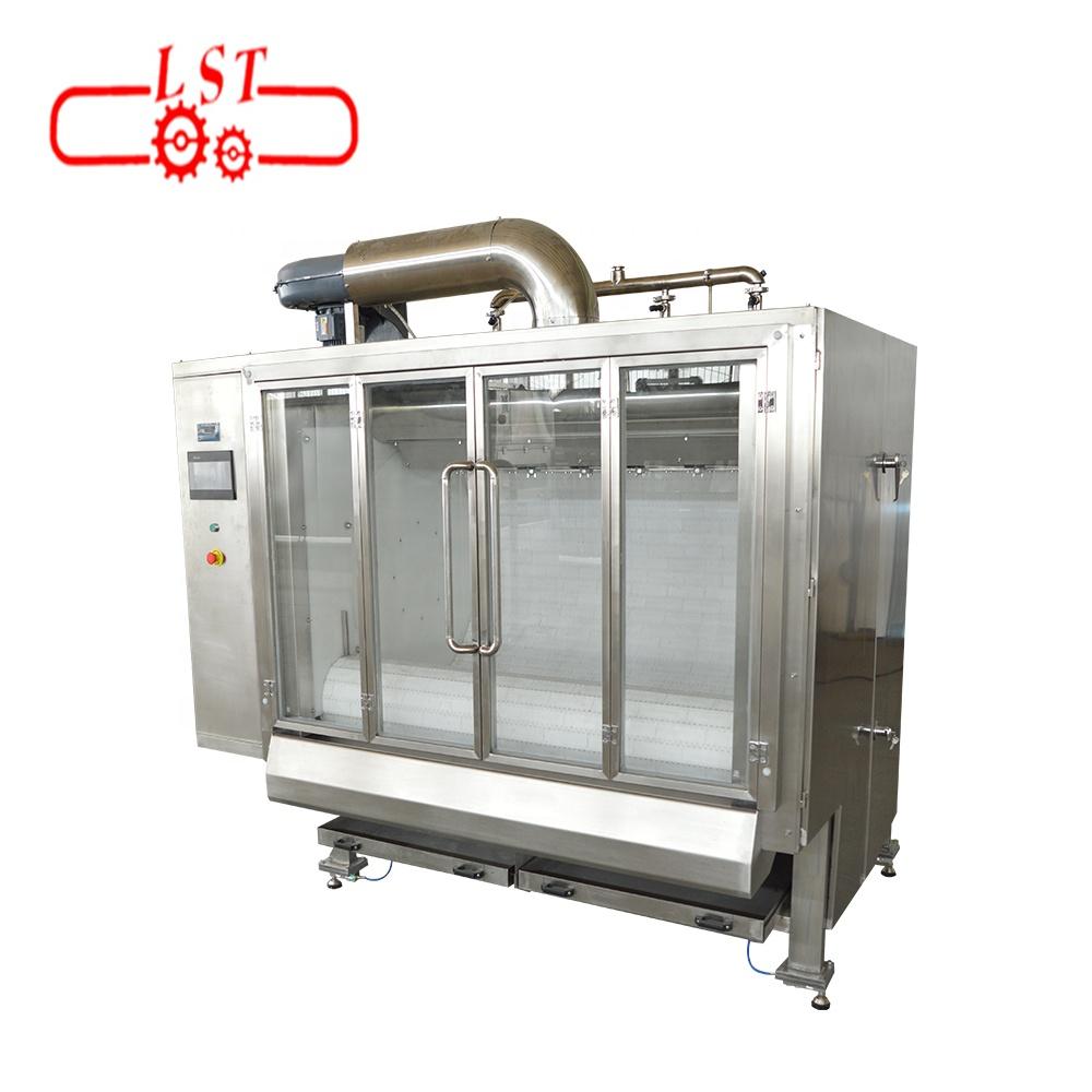 Fully automatic 200-400kg/h polishing machine chocolate coating machine  for sale