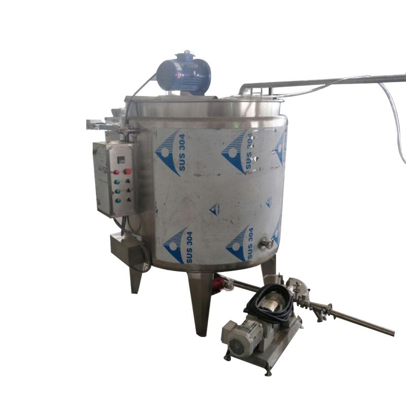 Cylinder Chocolate Tempering  Melting Tank Chocolate Making Machine Prices