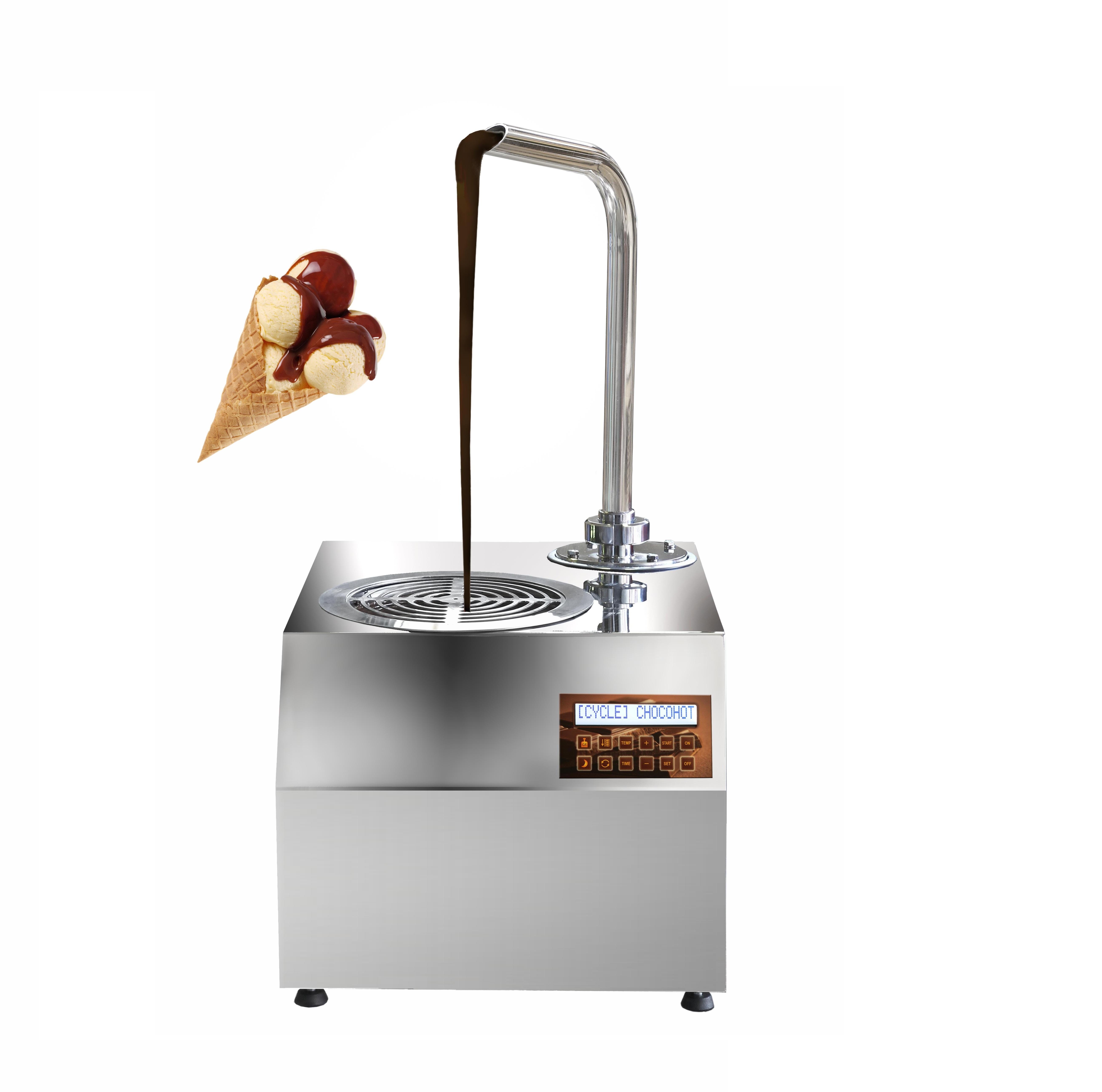 5.5L chocolate tempering dispenser